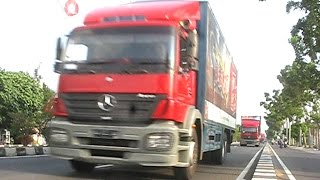 Trucking Mercedes Benz Actros Axor By Gudang Garam