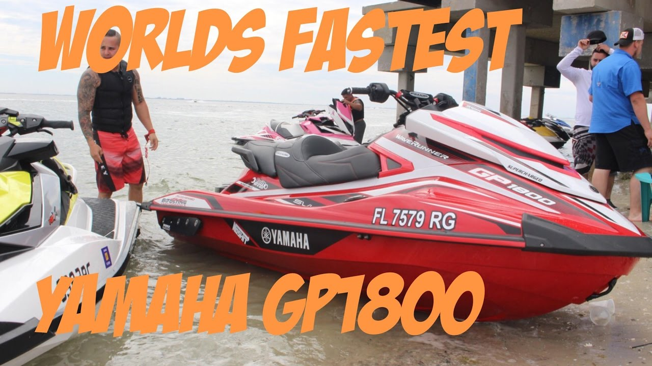 Worlds fastest yamaha gp1800 spec overview built by for Yamaha gp1800 horsepower