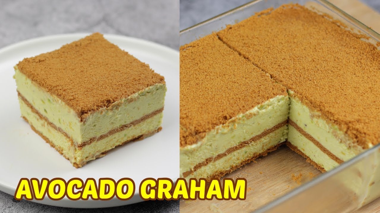 How To Make Avocado Refrigerator Cake! [ 4 Ingredients only ]