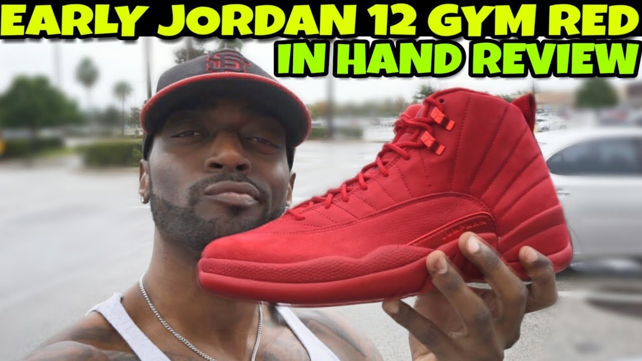 sports shoes d4d2b d8dfe 2018 Jordan 12 Gym Red Review!! Are They Worth The Hype??