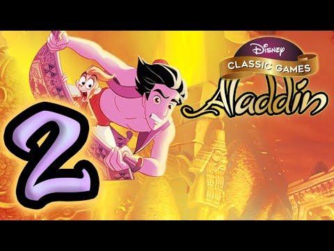 Disney Classic Games Aladdin HD Walkthrough Part 2 Cave Of Wonders (Nintendo Switch)