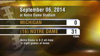 Inside Notre Dame Football 2014 - Michigan