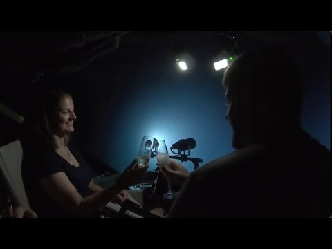 Watch This Couple Get Engaged 1,355 Feet Beneath the Ocean's Surface