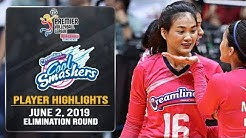 PVL RC 2019: Kuttika Kaewpin drops 27 points as Creamline wins back to back | June 2, 2019