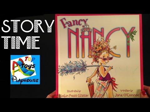 Fancy Nancy - STORY BOOK TIME !