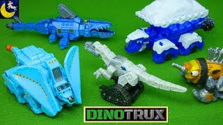 Dinotrux Toys! Snowblazer Arctic Adventure Pack Aquadon Power Trux Ton Ton Blizzard Ty D Structs Toy