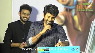 Sivakarthikeyan at Mr Local  Movie Press Meet