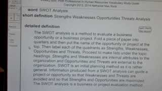 Swot analysis phr sphr professional in ...