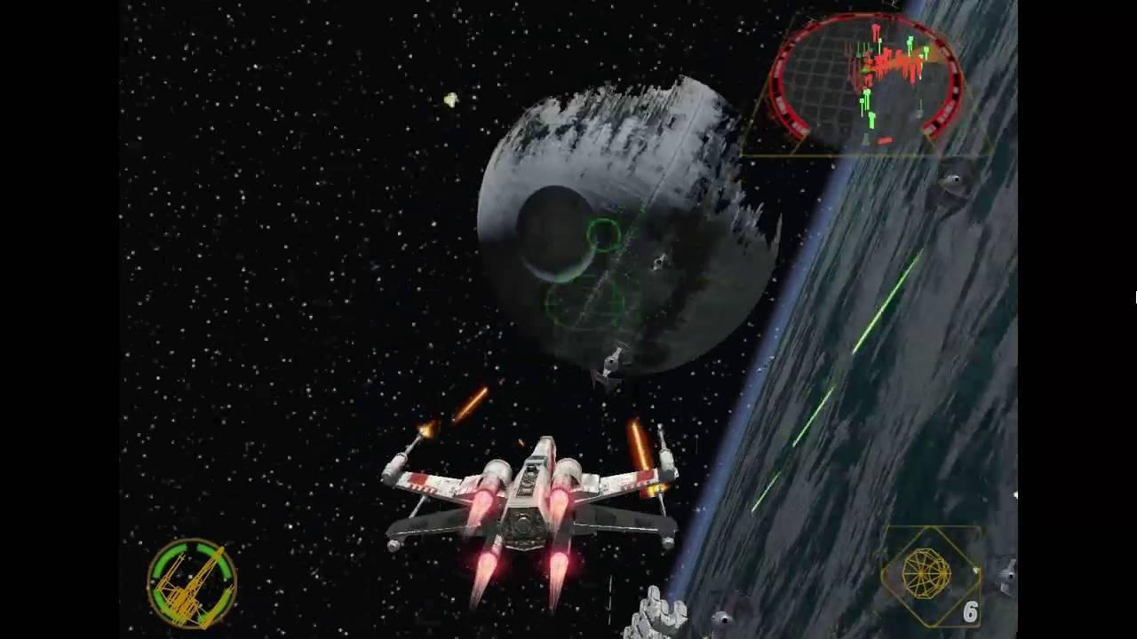 star wars rogue squadron 2 -probando- en español- dolphin 5 0