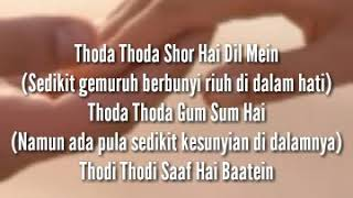Lirik lagu maheroo full video_supernani_ Dan terjemahannya