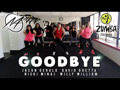 GOODBYE - Jason Derulo, Nicki Minaj, David Guetta & Willy William | Mauri Alejandro | Zumba Fitness