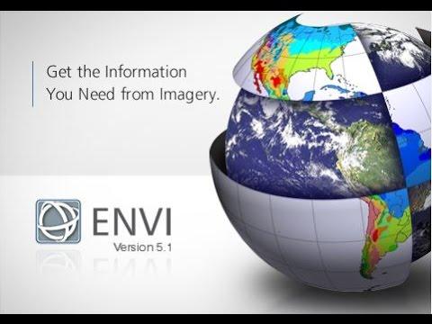 برنامج ENVI // الدرس الاول // فتح المرئية و كيفية عمل Layer Stack