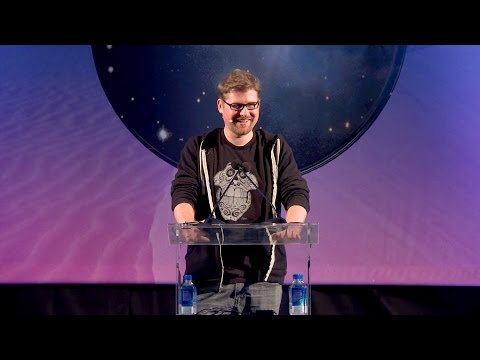 VRLA 2017 Keynote Address with Justin Roiland, Co-Creator of Rick and Morty