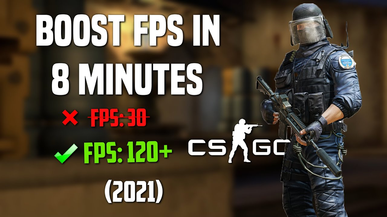 Download CSGO - How To Boost FPS in 8 Minutes (*INSANE* Boost)   2021 Guide!