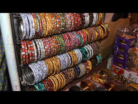 Ramzan Bangles Shopping Collection in Chudi Bazar Charminar