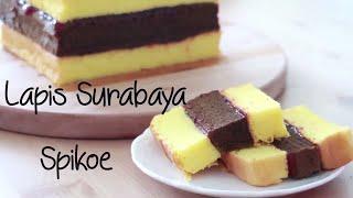 Spiku Lapis Surabaya ( Indonesian three layer cake )