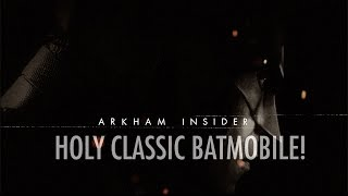 Official Batman: Arkham Insider Episode #9 - Holy Classic Batmobile!