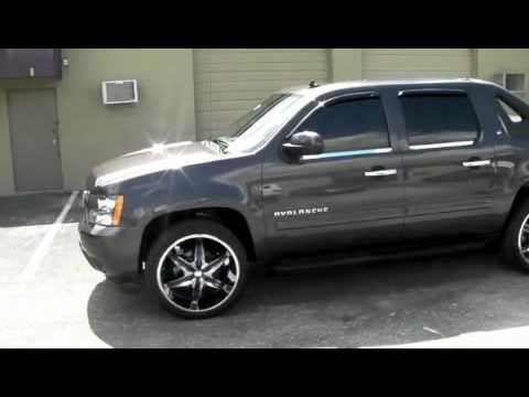 Dubsandtires Com 2011 Chevy Avalanche Silverado Review 24