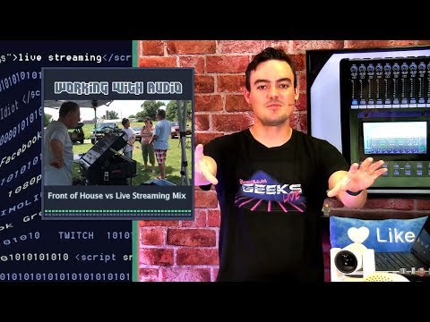 ASHLY DigiMix18 Review - ASIO Audio & Live Streaming A Concert