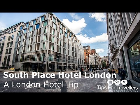 South Place Hotel London. A Best London Hotels and Review Travel Vlog
