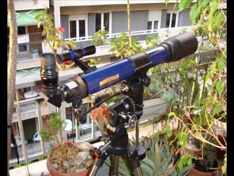 My bresser telescope skylux 70 700 part 1 youtube
