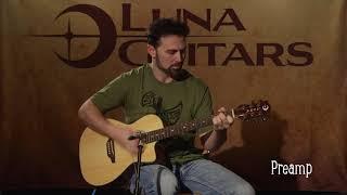 Gypsy Zodiac Parlor A/E by Luna Guitars