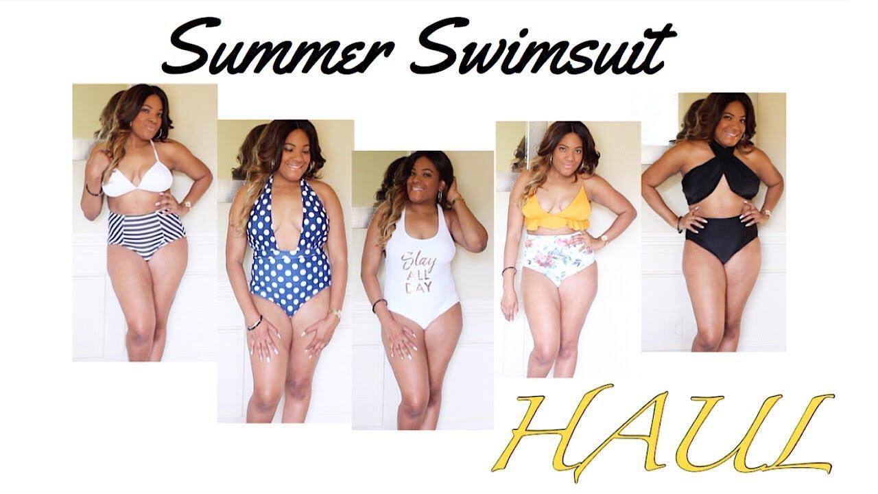 cf3919f81f1ba Swimsuit Try On Haul - Cupshe | ROMWE| WalMart - YouTube