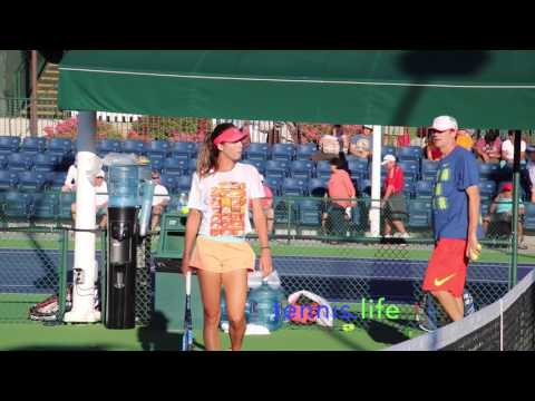 Kyrgios and Tomljanovic - practice partners