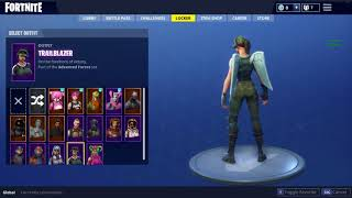 Trading Fortnite Account for skull trooper with reaper pickaxe or Red Knight or Gingerbreadman/Woman