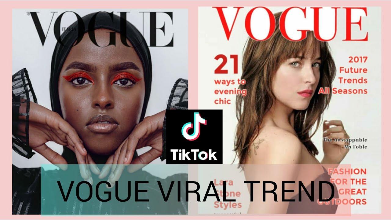 How To Do The Vogue Trend On Tiktok Vogue Challenge On Tiktok Youtube