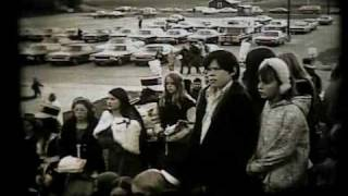 Mayville High School Homecoming 1972 pregame activities