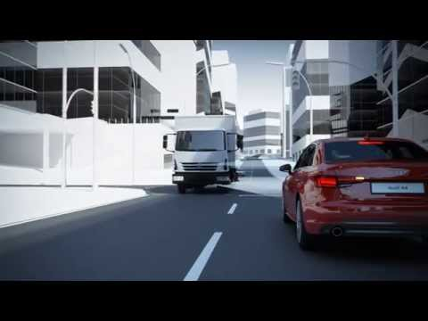 Audi A4 turn assist system Animation