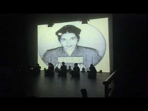 Vasisht Sukesh is performing in Broadway theatre, Barking,  on 23/04/2018_ in front in the middle...
