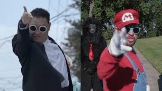 PSY GENTLEMAN vs. NINTENDO MAN