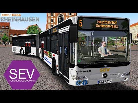 OMSI 2 [60 FPS] - SEV-Mod in RHEINHAUSEN Linie 5 - Let's Play Omsi 2