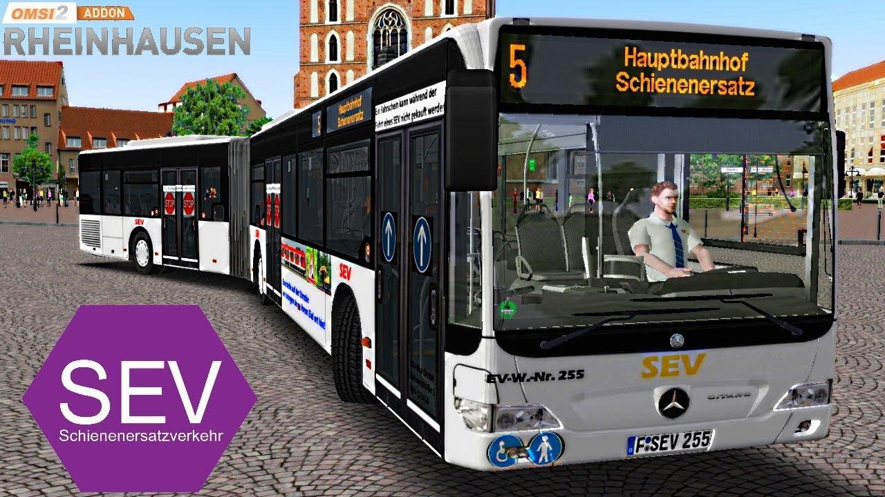 OMSI 2 [60 FPS] - SEV-Mod in RHEINHAUSEN Linie 5 - Let's Play Omsi 2 [#647]