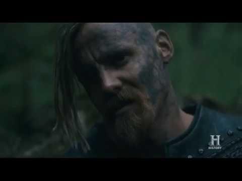 VIKINGS | King Harald and Halfdan say Icelandic folk song