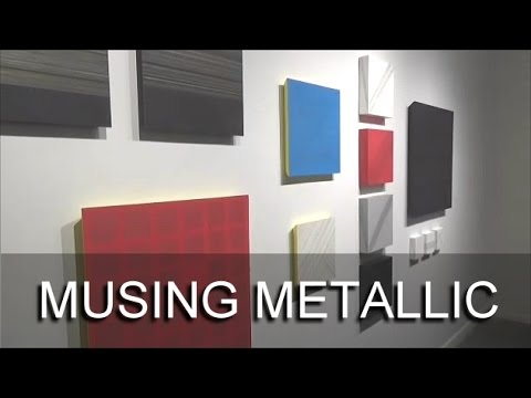 THE CURATOR GALLERY - Musing Metallic | art gallery openings, chlesea gallery openings