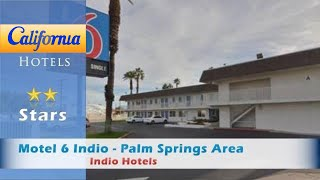 Motel 6 Indio - Palm Springs Area, Indio Hotels - California