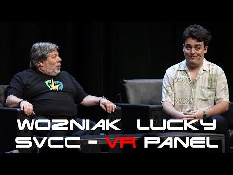Steve Wozniak & Palmer Lucky VR Panel - Silicon Valley Comic Con