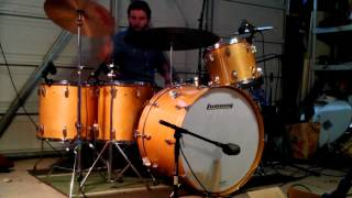 Led Zeppelin - Good Times, Bad Times - Drum Cover w/ Music - Ludwig Maple Thermogloss