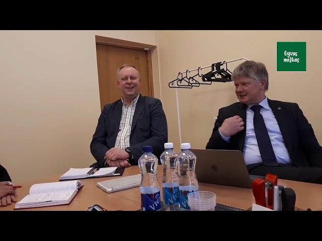 GYVAS MIŠKAS pas Aplinkos ministrą (pilna versija), 2018 vasario 08