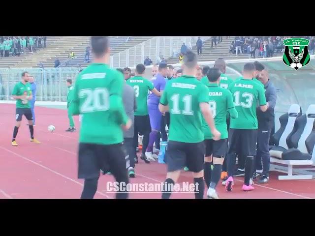 CS Constantine 1 - 0 MO Béjaia : Ambiance au stade