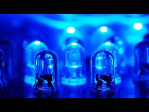 Как синие светодиоды