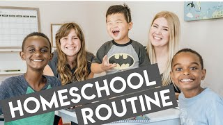 WHY WE HOMESCHOOL // Our New School Routine