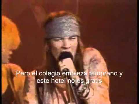 Guns n' Roses - My Michelle (subtitulada español)