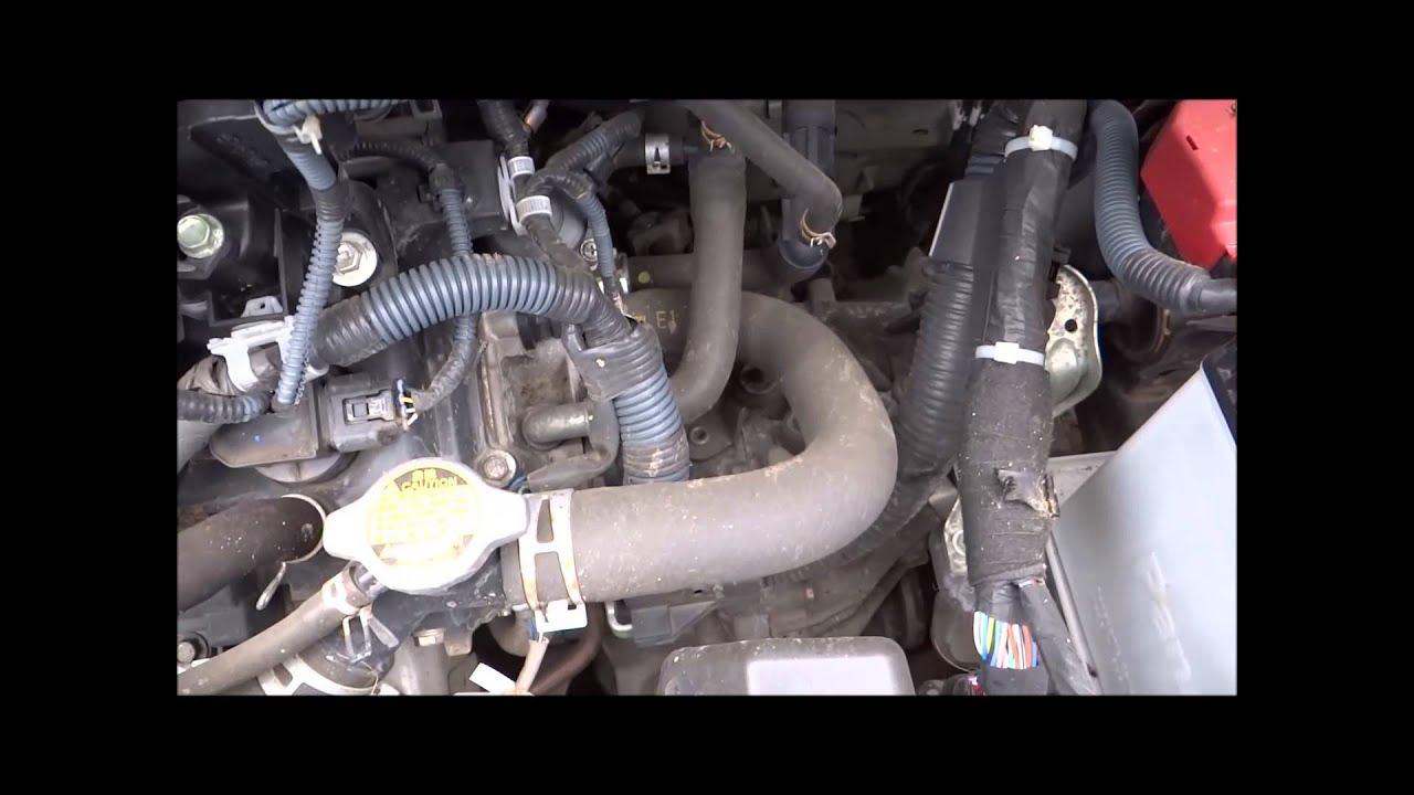 2009 toyota iq 1 0 engine 1kr fe [ 1280 x 720 Pixel ]