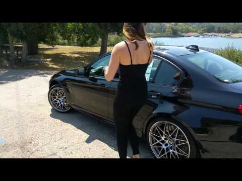 "NEW 2017 BMW M3 M Comp Package / 20"" M Wheels / Exhaust Sound / BMW Review"