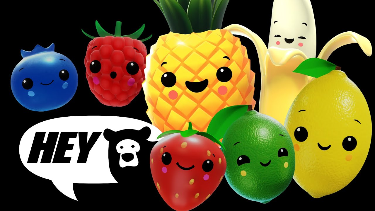 Download Hey Bear Sensory - Smoothie Mix!- Fun video with music and animation !