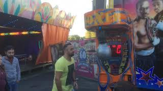 Insane Punch. Destroyed Punching Machine. Tyson Punch!!! Boxautomat Zerstört!